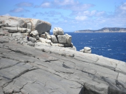 Rock formations Torndirrup