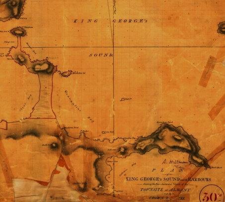 Quarantine Bay (Frenchman Bay) 1830s