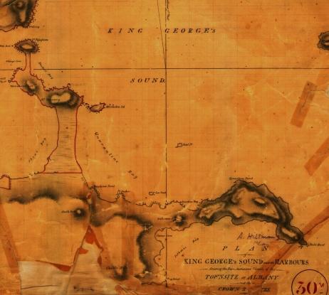 Quarantine Bay (Frenchman Bay) 1830s