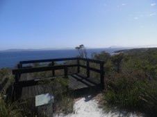 Lookout over Whalers Beach